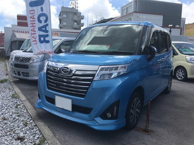 沖縄県の中古車ならトール カスタムG SAII