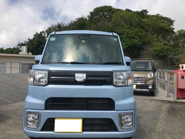 沖縄の中古車 ダイハツ ウェイク 車両価格 157万円 リ済別 2018(平成30)年 0.1万km ミストブルーマイカM