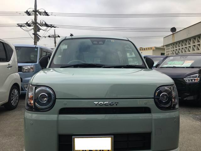 沖縄の中古車 ダイハツ ミラトコット 車両価格 128万円 リ済別 2018(平成30)年 0.3万km セラミックグリーンM