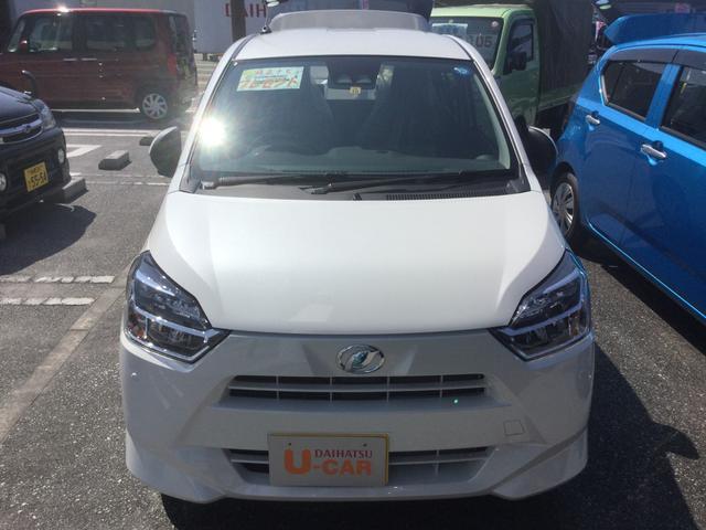 沖縄の中古車 ダイハツ ミライース 車両価格 111万円 リ済別 平成30年 6km パールホワイト3