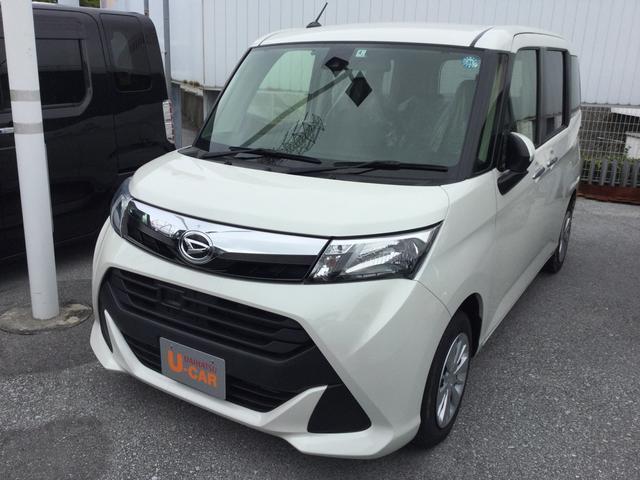 沖縄県の中古車ならトール Gターボ SAII