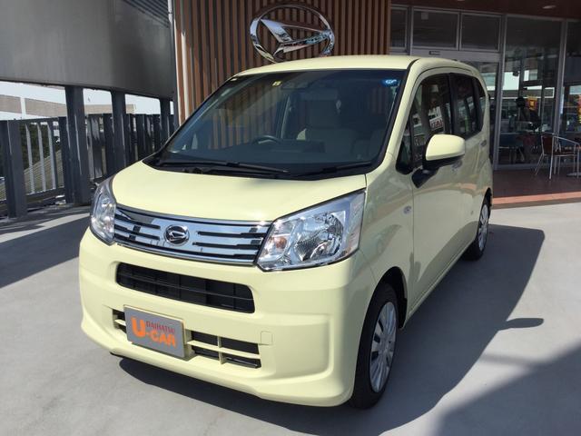 沖縄の中古車 ダイハツ ムーヴ 車両価格 122万円 リ済別 平成30年 0.2万km コットンアイボリー