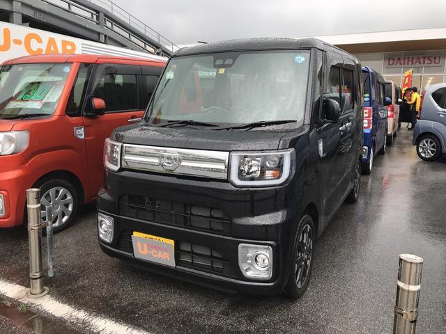 沖縄の中古車 ダイハツ ウェイク 車両価格 171万円 リ済別 平成30年 0.5万km ブラックマイカM
