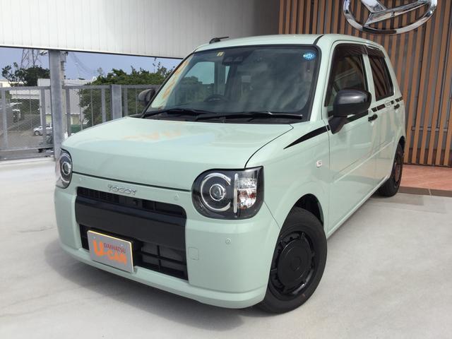 沖縄の中古車 ダイハツ ミラトコット 車両価格 128万円 リ済別 平成30年 999km セラミックグリーンM