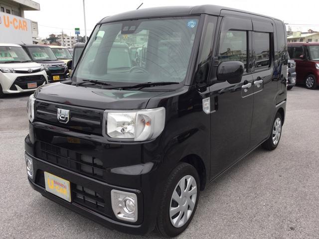 沖縄の中古車 ダイハツ ウェイク 車両価格 137万円 リ済別 平成30年 1.1万km ブラックマイカM