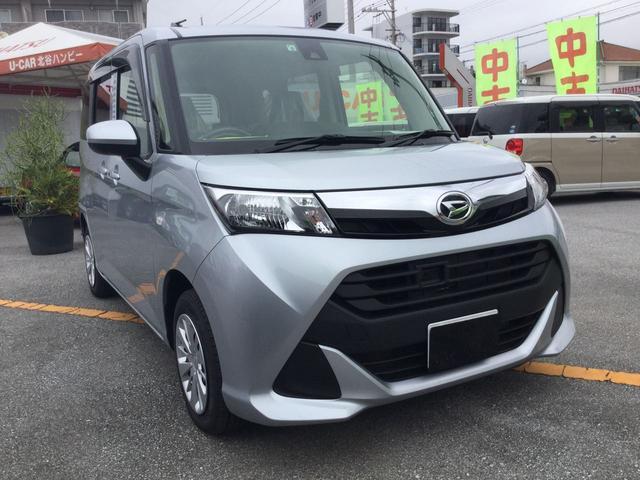 沖縄の中古車 ダイハツ トール 車両価格 148万円 リ済別 2018(平成30)年 0.3万km ブライトシルバーM