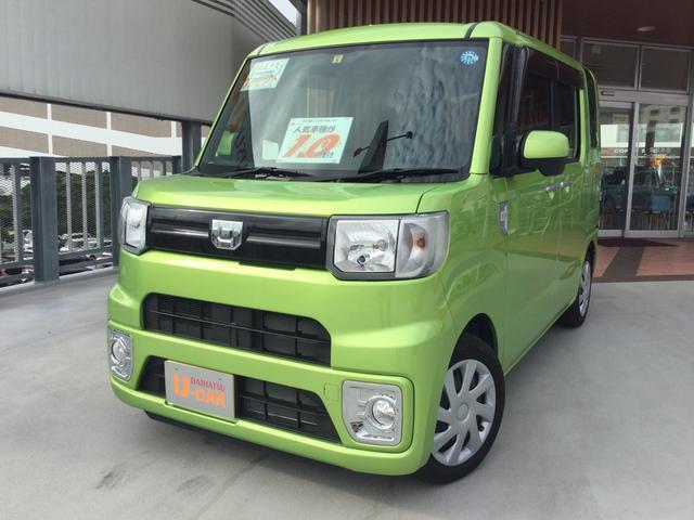 沖縄の中古車 ダイハツ ウェイク 車両価格 133万円 リ済別 2018(平成30)年 0.4万km フレッシュグリーンM