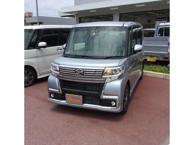 沖縄の中古車 ダイハツ タント 車両価格 174万円 リ済別 2019(平成31)年 5km ブライトシルバーM