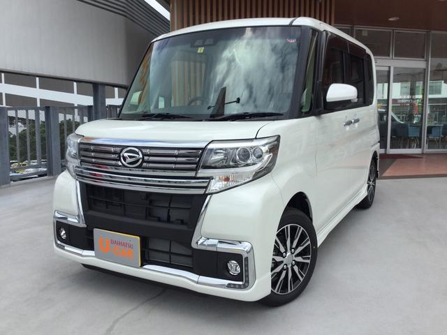 沖縄県の中古車ならタント カスタムX トップエディションリミテッドSAIII LED