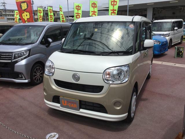 沖縄の中古車 ダイハツ ムーヴキャンバス 車両価格 150万円 リ済別 2019(平成31)年 5km W24 X T32
