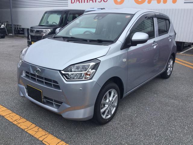沖縄の中古車 ダイハツ ミライース 車両価格 130万円 リ済別 2019(平成31)年 5km ブライトシルバーM
