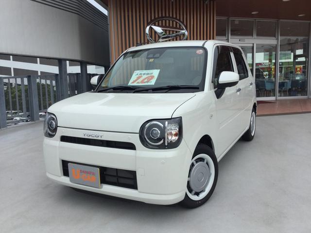沖縄の中古車 ダイハツ ミラトコット 車両価格 139万円 リ済別 2019(平成31)年 6km パールホワイト3