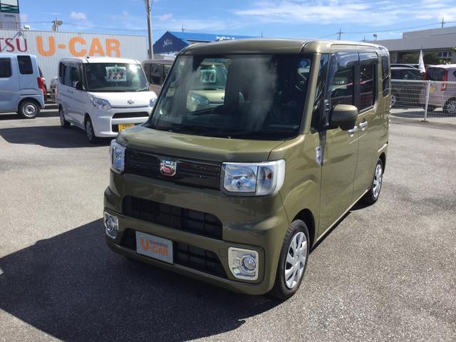 沖縄の中古車 ダイハツ ウェイク 車両価格 135万円 リ済別 2018(平成30)年 6km オフビートカーキM