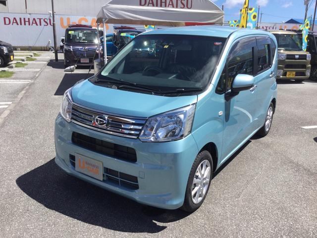 沖縄の中古車 ダイハツ ムーヴ 車両価格 136万円 リ済別 2019(平成31)年 4km スカイブルーM