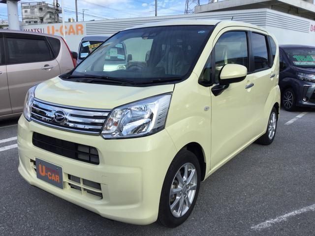 沖縄の中古車 ダイハツ ムーヴ 車両価格 130万円 リ済別 2018(平成30)年 0.6万km コットンアイボリー