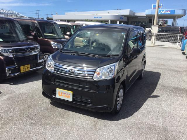沖縄の中古車 ダイハツ ムーヴ 車両価格 114万円 リ済別 2018(平成30)年 5km ブラックマイカM