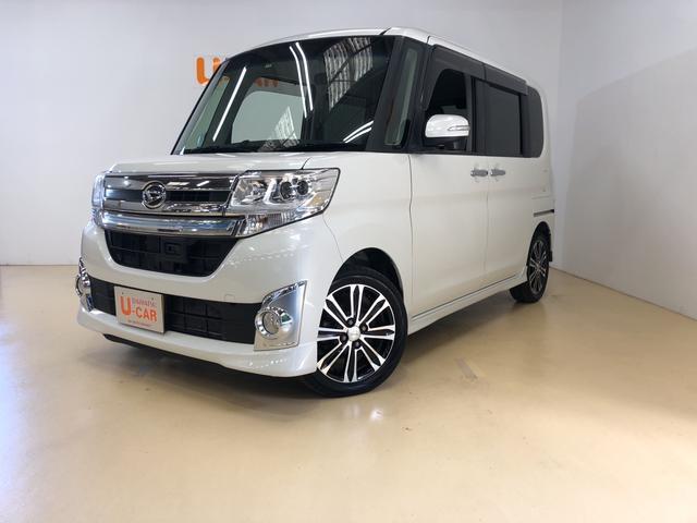 ダイハツ カスタムRS SA 8インチ純正ナビ+バックカメラ&ETC付