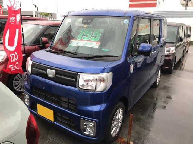 沖縄の中古車 ダイハツ ウェイク 車両価格 155万円 リ済別 2018(平成30)年 8km ブルーマイカM