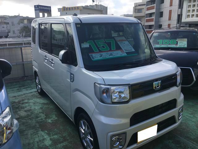 沖縄の中古車 ダイハツ ウェイク 車両価格 157万円 リ済別 2018(平成30)年 7km パールホワイト3