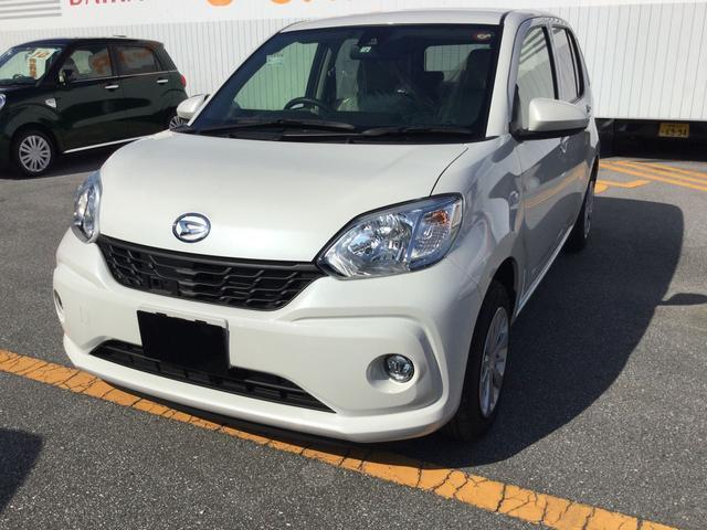 沖縄の中古車 ダイハツ ブーン 車両価格 130万円 リ済別 2018(平成30)年 0.2万km パールホワイト3