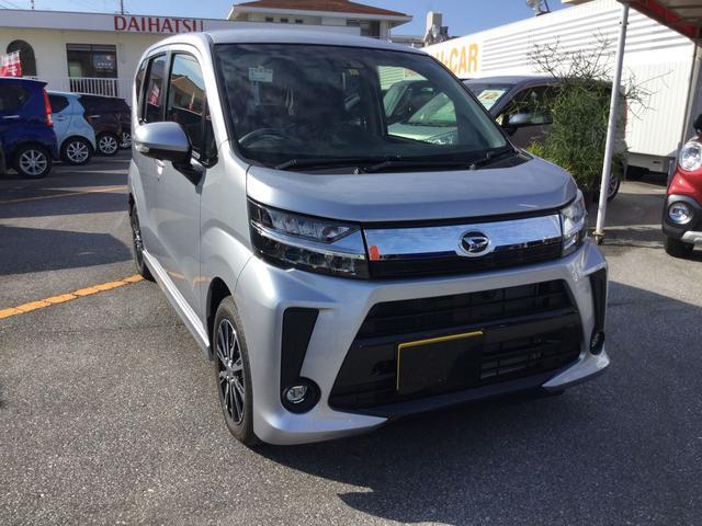 沖縄の中古車 ダイハツ ムーヴ 車両価格 146万円 リ済別 2018(平成30)年 6km ブライトシルバーM