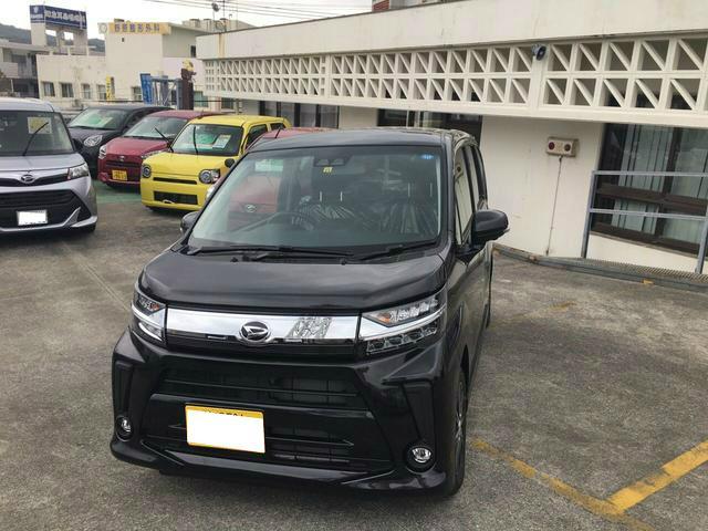 沖縄の中古車 ダイハツ ムーヴ 車両価格 146万円 リ済別 2018(平成30)年 6km ブラックマイカM