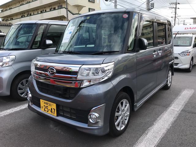沖縄県の中古車ならタント カスタム X SA ウェルカムシート