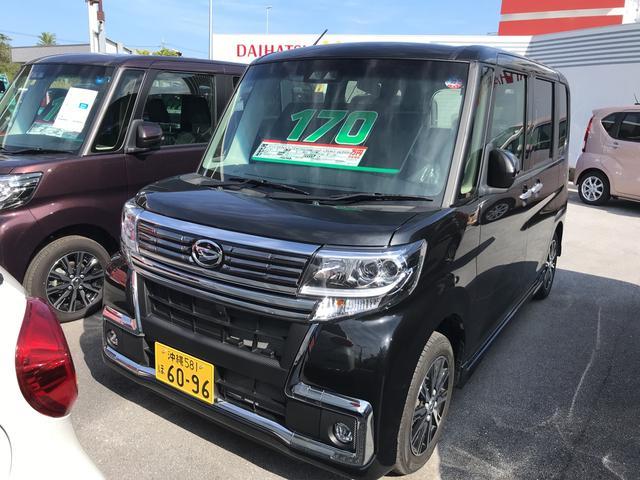 沖縄県の中古車ならタント カスタムX トップエディションリミテッドSAIII