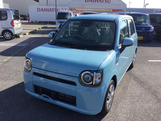 沖縄の中古車 ダイハツ ミラトコット 車両価格 98万円 リ済別 2019(平成31)年 5km サニーデイブルーM