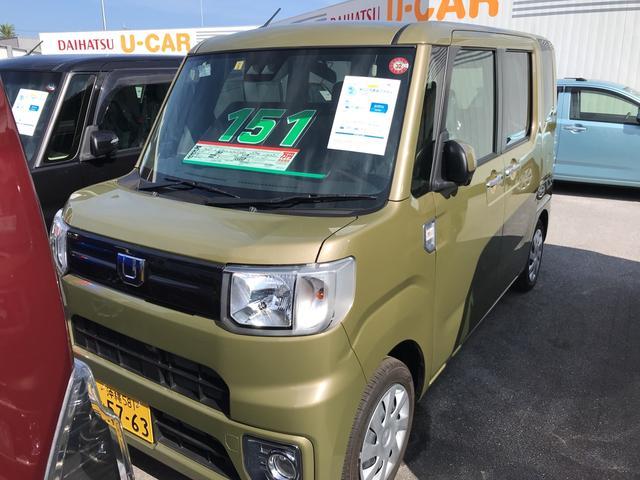 沖縄の中古車 ダイハツ ウェイク 車両価格 151万円 リ済別 2019(平成31)年 8km オフビートカーキM