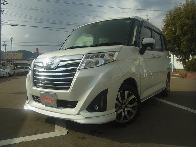 ダイハツ カスタムG ターボ SAII 2WD CVT ターボ ナビ