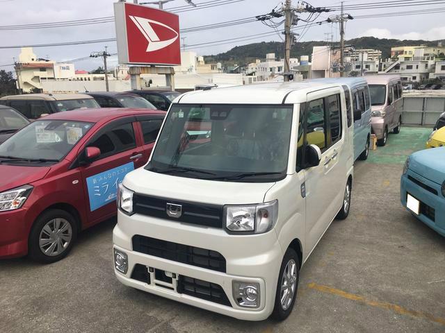 沖縄の中古車 ダイハツ ウェイク 車両価格 160万円 リ済別 2019(平成31)年 7km パールホワイト3