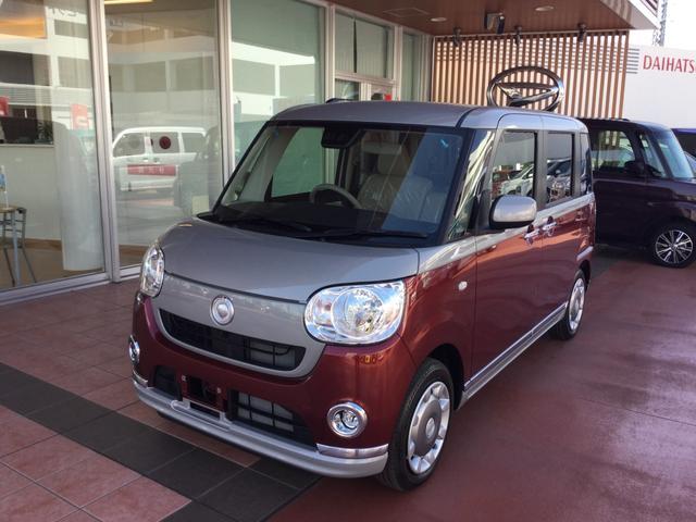 沖縄県浦添市の中古車ならムーヴキャンバス Xメイクアップリミテッド SAIII