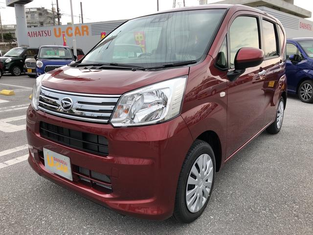 沖縄の中古車 ダイハツ ムーヴ 車両価格 119万円 リ済別 2020(令和2)年 4km ファイアークォーツレッドM