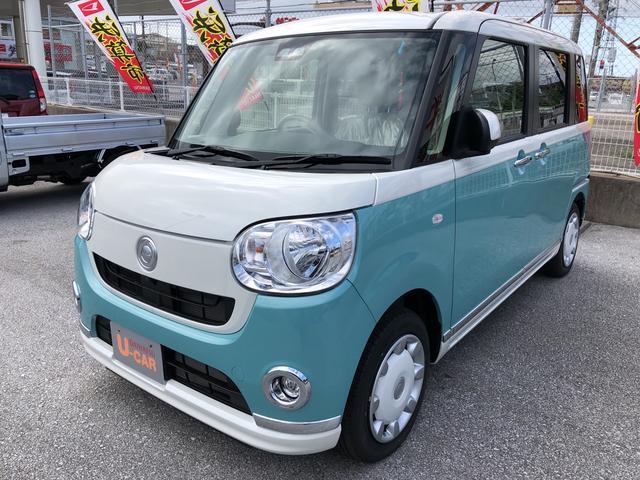 沖縄県の中古車ならムーヴキャンバス Xメイクアップリミテッド SAIII