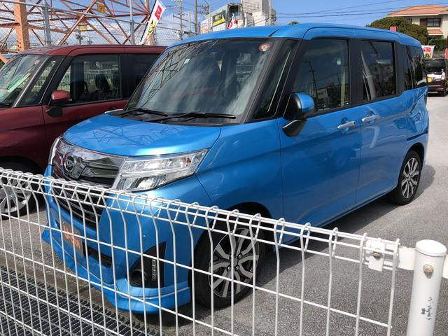 沖縄県の中古車ならトール カスタムG ターボ SAIII