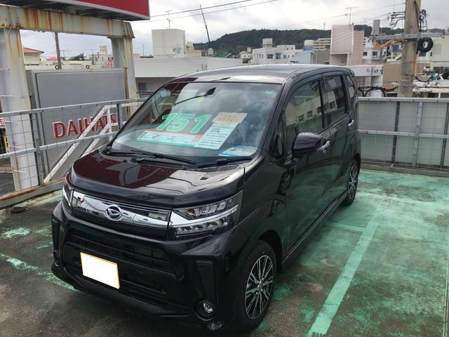 沖縄の中古車 ダイハツ ムーヴ 車両価格 151万円 リ済別 2020(令和2)年 4km ブラックマイカM