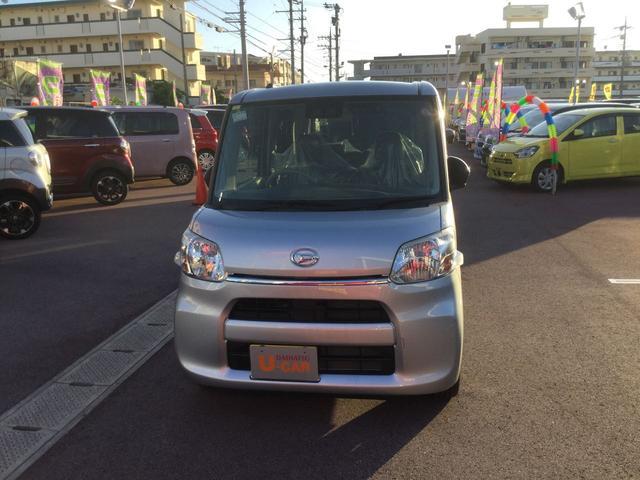 沖縄の中古車 ダイハツ タント 車両価格 123万円 リ済別 2018(平成30)年 0.7万km ブライトシルバーM