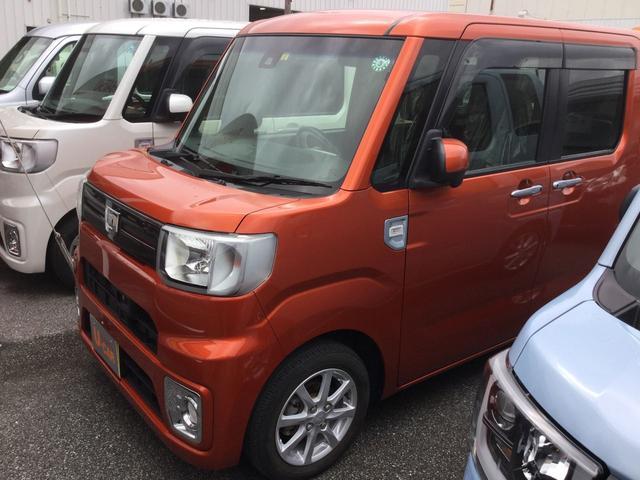沖縄県豊見城市の中古車ならウェイク L レジャーエディションSAII