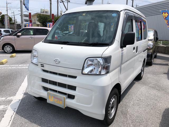 沖縄の中古車 ダイハツ ハイゼットカーゴ 車両価格 85万円 リ済別 2016(平成28)年 4.2万km ホワイト