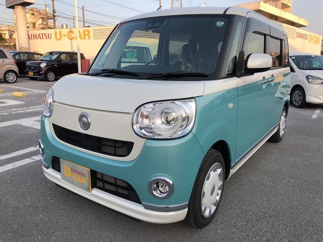 沖縄県の中古車ならムーヴキャンバス Gブラックインテリアリミテッド SAIII