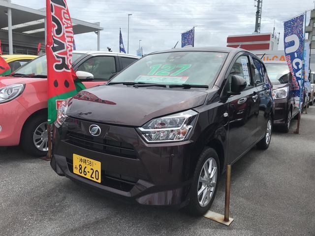 沖縄県の中古車ならミライース G リミテッドSAIII