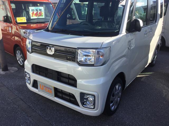 沖縄の中古車 ダイハツ ウェイク 車両価格 153万円 リ済別 2019(令和1)年 10km パールホワイト3