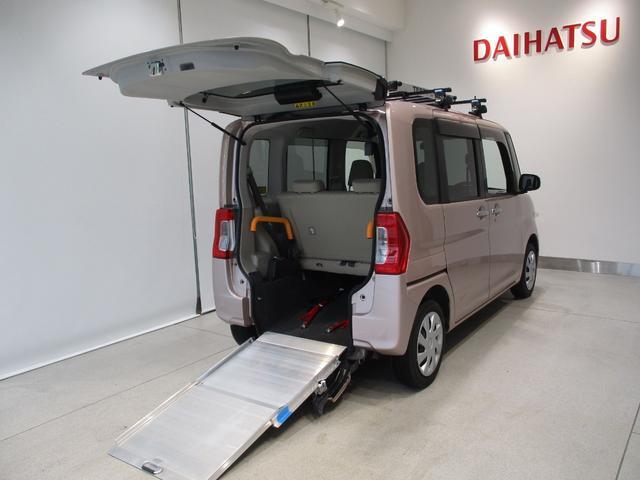ダイハツ X SA スローパー リアシート付 車いす移動仕様車