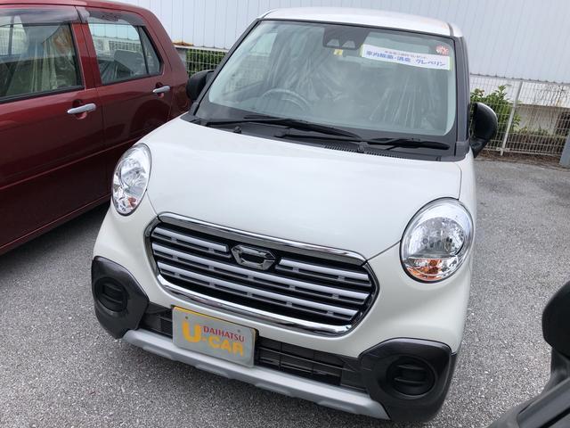 沖縄の中古車 ダイハツ キャスト 車両価格 132万円 リ済別 2018(平成30)年 1.0万km パールホワイト3