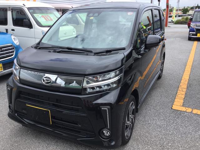 沖縄の中古車 ダイハツ ムーヴ 車両価格 153万円 リ済別 2019(令和1)年 0.2万km ブラックマイカM