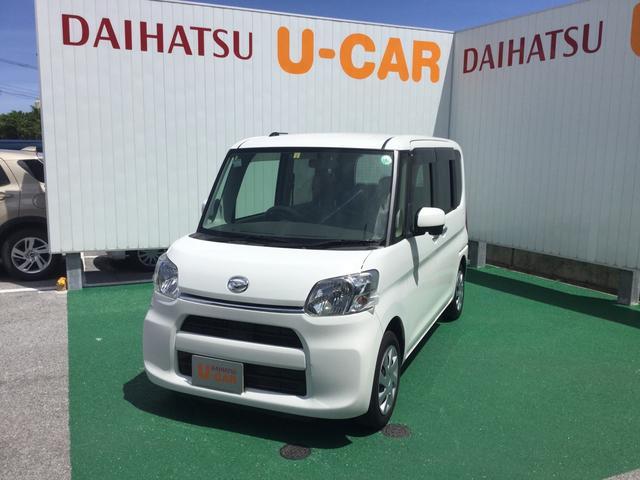 沖縄の中古車 ダイハツ タント 車両価格 88万円 リ済別 2015(平成27)年 5.3万km ホワイト
