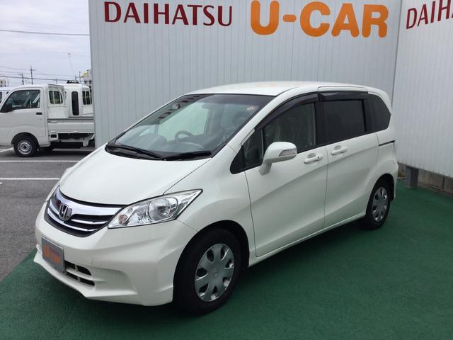 沖縄の中古車 ホンダ フリード 車両価格 98万円 リ済別 2012(平成24)年 2.5万km パールホワイト