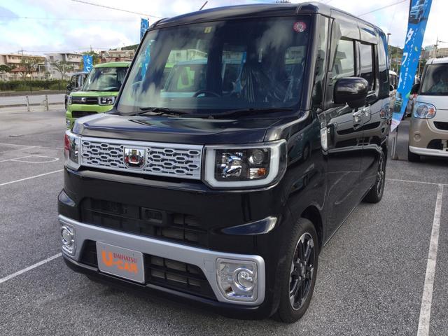 沖縄の中古車 ダイハツ ウェイク 車両価格 148万円 リ済別 2016(平成28)年 1.7万km ブラックマイカM