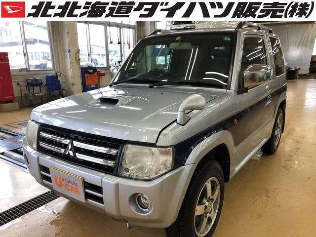三菱 パジェロミニ エクシード パートタイム4WD&4AT CDチューナー